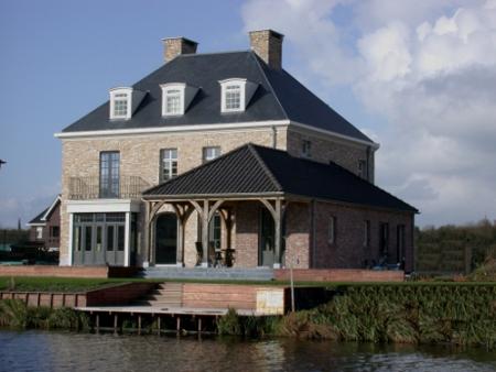 Verbouw renovatie monumentale panden landhuizen architecten renovatie restauratie historische - Te vangen zwart wit ontwerp ...