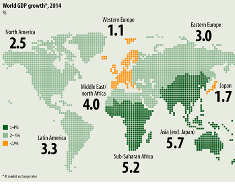 africa and asia fastest growing economies - emerging ...
